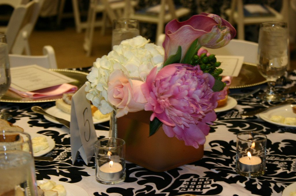 Atlanta Wedding Venue with Flowers