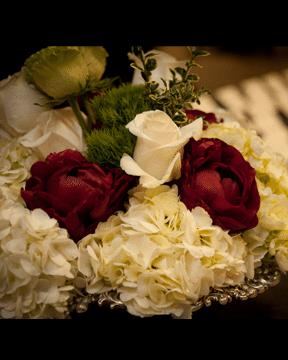 flowers wedding venue